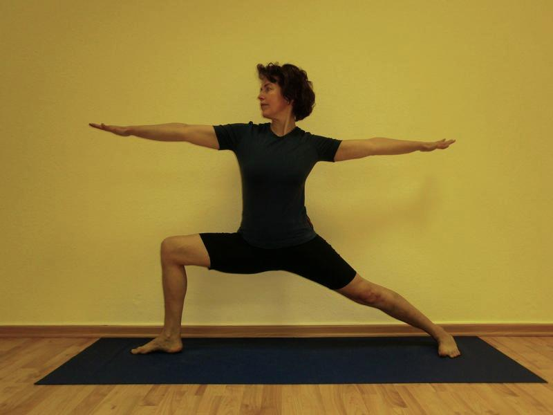 Yoga-Lehrerin